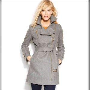 🆕 { Michael Kors } Asymmetrical Belted Trench